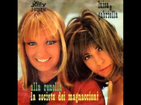 Gabriella e Luisa - La società dei magnaccioni - Alla renella
