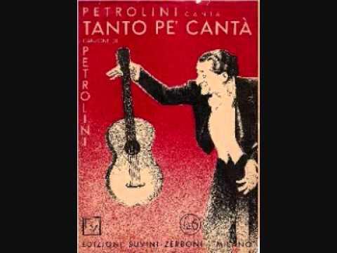 Petrolini - Tanto pe canta