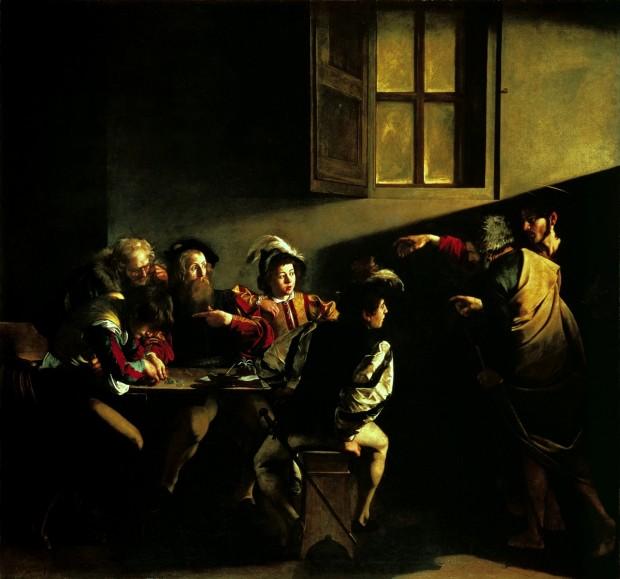 Caravaggio - La vocazione di San Matteo