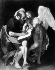 Prima versione di san Matteo e l'angelo - Caravaggio