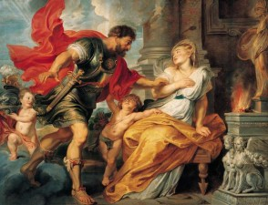 """Marte e Rea Silvia"", Rubens, 1616-1617"