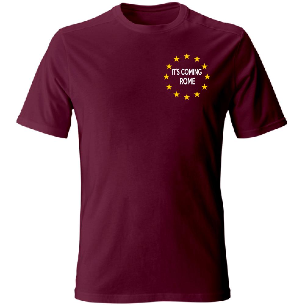 maglietta euro 2020 bordò
